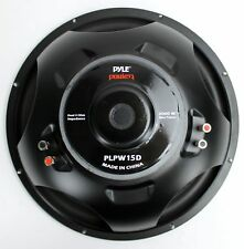 Car Subwoofers 15 in. 2000-Watt Dual Voice-Coil 4 Ohm Audio Bass Vehicle Sound