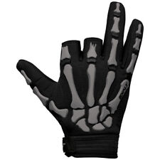 Exalt Death Grip Gloves - Grey / Black - Small - Paintball