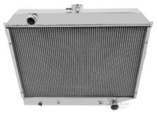 1968-1973 Dodge Charger Aluminum 3 Row Champion Radiator