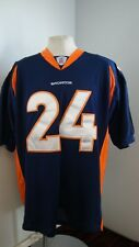 wholesale dealer 9fd20 a029a Reebok On Field Champ Bailey 24 Denver Broncos Football Jersey stitched  size 54
