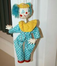Vintage Pelham Puppets Clown Puppet Made in England