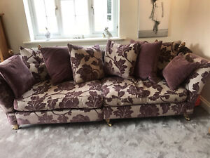 1 X Large Sofa 4 Seater With Scatter Cushions