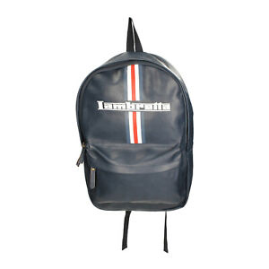 UNISEX LAMBRETTA BACKPACK LAM 101 NAVY SYNTHETIC ONE SIZE