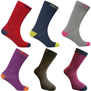 DexShell Mens Waterproof Ultra Thin Breathable Walking Cycling Sports Crew Socks