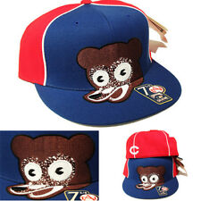 American Needle Chicago Bears Fitted Hat Cooperstown Classic Bear Head Logo Cap
