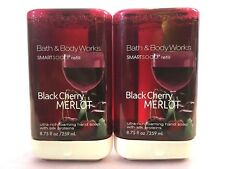 NEW 2 BATH & BODY WORKS BLACK CHERRY MERLOT SMARTSOAP FOAMING REFILL 8.75 FL OZ