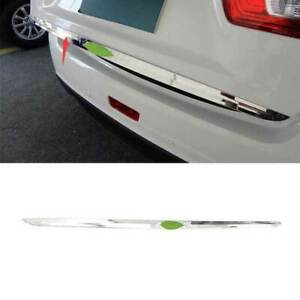 For Mitsubishi Sport 2011-2021 Chrome Steel Rear Lower Tailgate Trunk Lid Cover