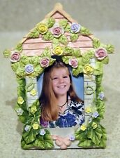 Picture frame with flowers