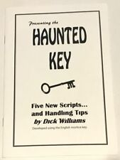 THE HAUNTED KEY BOOKLET Ghost Moves Hand Skeleton Close Up Spirit Spooky Book