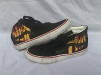 🔥 Vans X Thrasher Pro Sk8-Hi Men's Size 11 Skate Shoes Old Skool Flame Suede 🔥