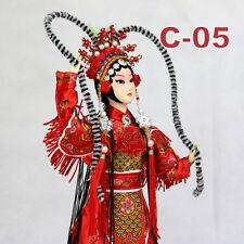 C-05 China Peking Oper chinesisch Puppe Figur Seide 31 cm Neu Geschenkidee OVP