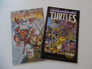 MIRAGE TEENAGE MUTANT NINJA TURTLES  #49 and #52