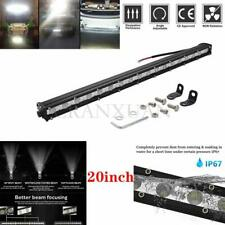 20inch 54W Slim Single Row 6D Spot Beam Off-Road LED Work Light Bar Waterproof