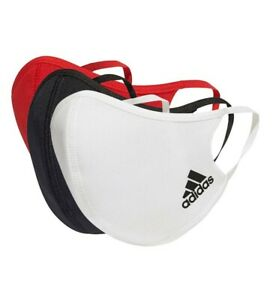 NEW Adidas Face Mask Cover (3-Pack) 3 Colors 1 pack  Size M/L - Free Shipping