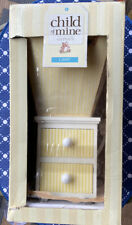 Child of Mine by Carter's Nursery Lamp (2 Drawers, Yellow Stripes)