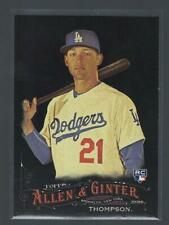 2016 Topps Allen and Ginter X  #16  TRAYCE THOMPSON  DODGERS  RC