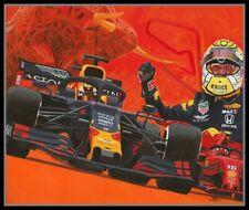 Canvas 2019 Austrian Grand Prix winner Max Verstappen (NED) Toon Nagtegaal (LEF)