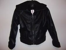 COLLECTION B - GIRLS - JACKET - BLACK  - SIZE SMALL   (AC-27-455)