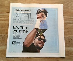 2019 NFL Preview - Special Hartford Courant/Tribune Section - 9/1/2019 - Unread