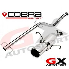 VA16 Cobra Sport Vauxhall Astra G Coupe 98-04 Cat Back Exhaust Non Resonated