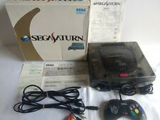 SEGA Saturn SS Limited Clear Skeleton Console HST-3220,Pad,Cable,Boxed set-G-