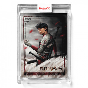 2021 TOPPS PROJECT 70 CARD #491 SHOHEI OHTANI - BY CHUCK STYLES
