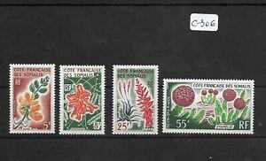 SMT 156, Cote des Somalis set of 4 stamps, MNH