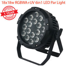 18x18W RGBWA+UV 6in1 Ultra bright LED Par Stage Party Disco Light Effect Wash