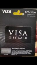 $300  VISA gift master Card. No Fees, Ready to use.