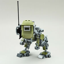 Lego Custom Olive Green Robot Mech Sci Fi Future Military Drone Weapon EXO SUIT