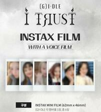 (G)I-DLE I TRUST OFFICIAL GOODS INSTAX FILM SET POLAROID PHOTO SEALED
