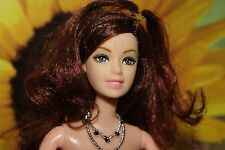 Barbie Style Doll with Brown Hair and Movable Parts, Free Shipping