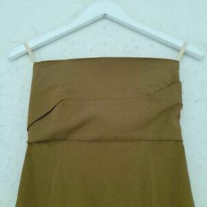 Rick Owens Women's Maxi Dress 6 Green, Blend - cotton