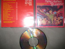 Japan CD Soundtrack  Ryuichi Sakamoto ‎Merry Christmas Mr. Lawrence David Bowie