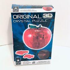 Original 3D Crystal Apple Puzzle Level 2 Be Puzzled (43 Pieces)