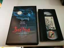 VHS - BAD MOON - LUNA MORTALE di Eric Red [WARNER BROS]