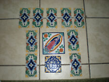 Lot Of 11 Wall Tiles Architectural Find