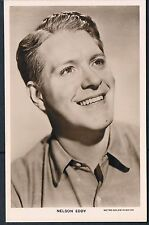 MGM PICTUREGOER POSTCARD RP NELSON EDDY