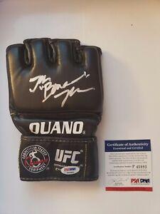 Jon Jones signed glove