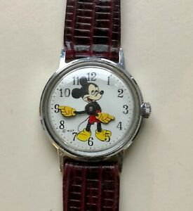 Vintage Walt Disney Productions 1970s Mickey Mouse Watch 30102468