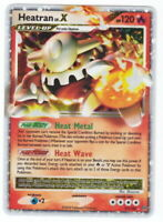 POKEMON • Heatran Lv.X CARTA ULTRA RARE HOLO • STORMFRONT LIV X  97/100 NM