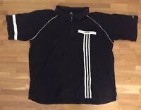 Adidas Poloshirt Gr. XXL 2XL Adi Dassler Herren Sweatshirt Vintage 90s er Anzug
