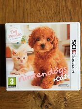Nintendogs + Cats Toy Poodle (unsealed) - 3DS UK Release New!