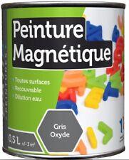 PEINTURE MAGNETIQUE 0.5L GRIS pour un affichage aimant sans punaise ni adhésif