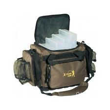 FISHING BAG with stiff base, boxes RH included