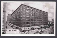 Ca1960 REAL PHOTO POST CARD T. EATON CO RETAIL STORE WINNIPEG CANADA, MINT