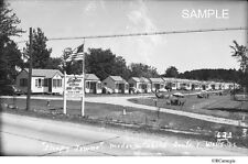 1930's/40's Sleepy Towne Cabins Cottages Route 1, Wells Maine Seahorse Resort