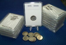 Coin holders Slab Style for Canadian and  Nfdl 10 cents-- size 18 mm **10 pcs**l
