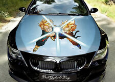 Anime Car Bonnet Wrap Decal Full Color Graphics Vinyl Sticker Fit Any Car #095