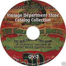 Eaton Simpsons Sears Field Catalogs {Vintage Fashion History} on DVD